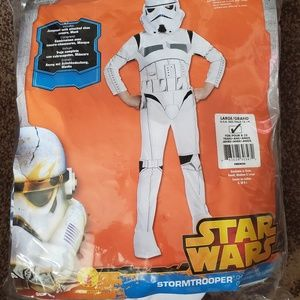 Star Wars torm Trooper Costume Boys Like New